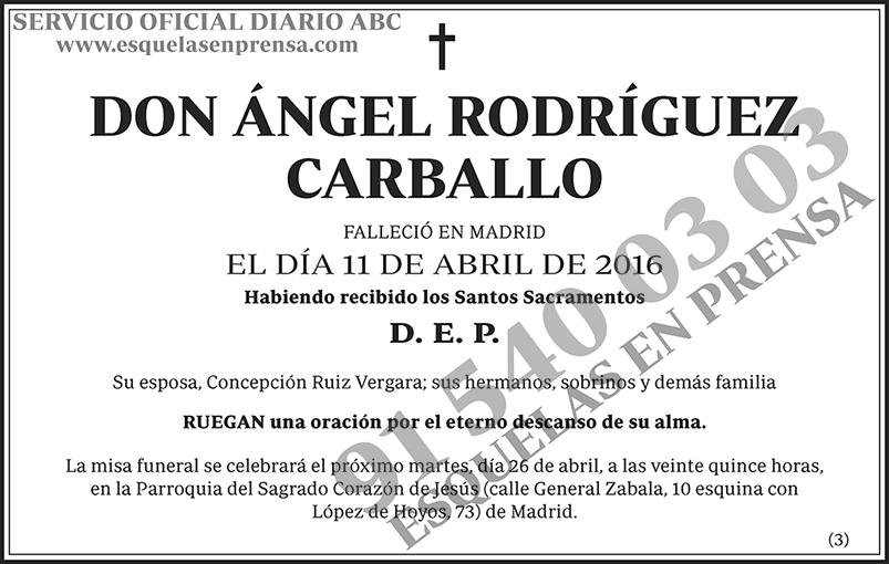 Ángel Rodríguez Carballo